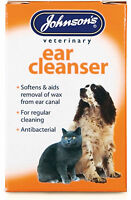 Johnsons ear cleanser, ear cleaner,Antibacterial for cats and dogs