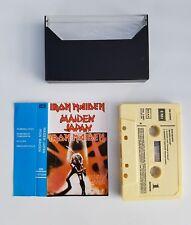 Iron Maiden maiden japan cassette Spanish