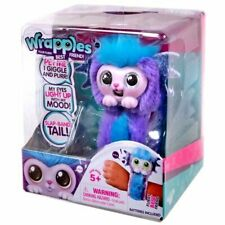 Wrapples Shora Slap Band Little Live Electronic Pets Purple and Blue