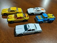 Lot of 5 vintage Hot Wheels Matchbox dinky cars 70s era