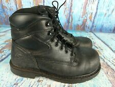 RED WING Irish Setter Farmington 83626 Black Oiled Leather Steel Toe Boot Men 9D
