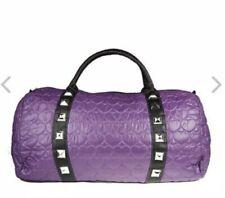Iron Fist Large Purple Scatterheart Duffle Hand Bag