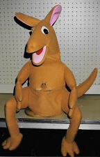 Large Kangaroo Ventriloquist Puppet w/baby in pocket-animal, education,ministry