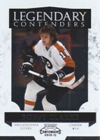 2010-11 Playoff Contenders Legendary #12 Bobby Clarke Philadelphia Flyers