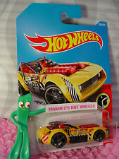 PILEDRIVER #209☆yellow/red; gray oh5☆DAREDEVILS☆2017 i Hot Wheels☆Case J/K