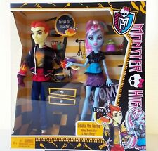 Monster High Double Recipe Home Ick Abbey Bominable Heath Burns Doll Set Male