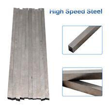 10Pcs SG High Speed Steel HSS Lathe Cutting Tool Bits Bar Handy 6 x 6 x 200mm UK