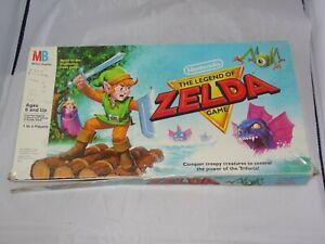 Nintendo Legend of Zelda 1988 Milton Bradley Board Game Near Complete