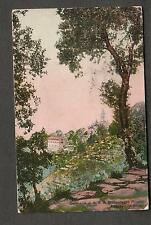 1910 post card Italy Montallegro to Sr Regina Rose Mount St Vincent Academy NY