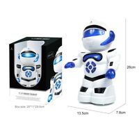 Remote Control Robot Toy Intelligent Walking RC Space Robot with Music& Light UK