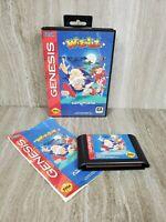 Wiz 'n' Liz Sega Genesis 1993 CIB Complete Tested