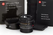 Leica Summicron-M 11604 2/28mm ASPH. black 6-bit // 32436,11