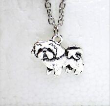 Halskette Niedlichen Tier Hund katze Welpen Charme Shih Tzu Shihtzu Liebhaber 32