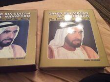 Very rare book Zayed Bin Sultan Al -Nahayyan The leader and the march hamdi tam