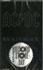 AC/DC BACK IN BLACK MUSICASSETTA RECORD STORE DAY 2018 NUOVA SIGILLATA