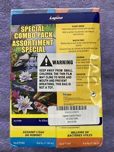 Laguna Special Combo Pack Pond Water Treatment - Set of 4 different treatments