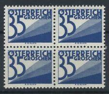 Austria 1925 Mi. 151 Nuovo ** 100% Pacchi postali - quartina