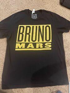 Bruno Mars 24K Magic World Tour Concert T-Shirt Men's Size XL