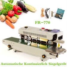 Fr 770 Automatic Continuous Band Sealer Horizontal Plastic Bag Sealing Machine