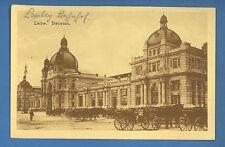 RUSSIA UKRAINA LVOV STATION POSTCARD PRE 1917  (1102)