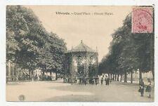 CPA PK AK VILVORDE GRAND' PLACE LE KIOSQUE 1920 EDITEUR HERMANS