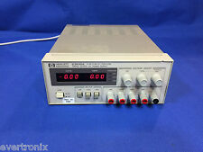 Agilent /HP  E3630A 35W Triple Output, 6V, 2.5A & ±20V, 0.5A  DC Power Supply