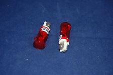 50 Pcs 24V AC/DC 12mm RED Panel Mounting plug in Incandescent   Pilot Lights