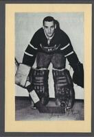 1944-63 Beehive Group 2 Photos Montreal Canadiens #278 Jacques Plante