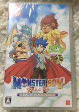Monster Boy and the Cursed Kingdom Nintendo Switch Japan ver English Chinese