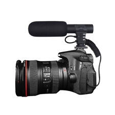 Professional Interview Camera Video Microphone Outdoor Computer Recording Sound