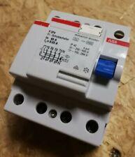 ABB F374-63/0,03 FI-Schutzschalter Typ-A 63A 30mA 4-polig GHF3740001R2590