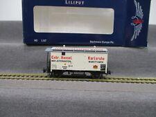"Liliput H0 L224802 Güterwagen Fleischtransport ""Hensel"" Baden Ep.I in OVP"