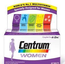 Centrum Para Mujer Vitamina Pastillas A A Cinc Multivitamínico 60 Comprimidos