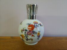 LAMPE BERGER  PARIS MADE IN FRANCE LIMOGES COULEUVRE CP flowers  1960s