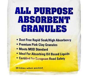 Multi zorb Oil absorbant granules, oil spill granules, 2X20Ltr bag Oil response