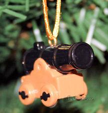 Custom Disney PETER PAN NEVERLAND MILITARY GUN CANNON PVC Christmas Ornament NEW