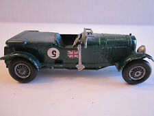 LESNEY 1929 BENTLEY 4 1/2 LITRE - #5  - DIECAST - MODELS OF YESTERYEAR - TUB CCC