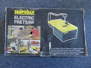 spiralux electric fretsaw hobby scroll saw