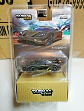 Tarmac Works 1/64 Koenigsegg Agera RS Black With Container NEW
