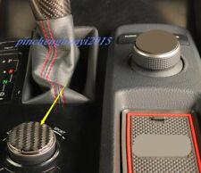Real Carbon Fiber Center Console Knob Cover Trim For LEXUS IS250/300/350 13-18