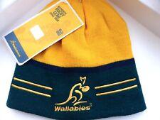Wallabies AUSTRALIA RUGBY 2018 SKULL BEANIE HAT Toque Tag OSFA *WEAR 2 WAYS*