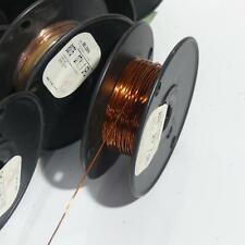"Belden 8075 Enameled Copper 18 AWG Gauge Magnet Wire ~ 16 Oz ~ 199' x 0.0437"""