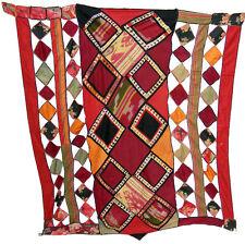 antique orient Uzbek Suzani Patchwork Wedding Camel flank Kamel schmuck Ikat -F