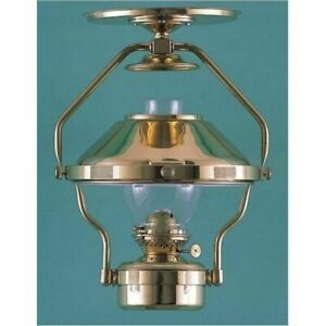 DHR Captains Lamp Jr Brass Nautical Oil Lamp 8208/O NEW IN BOX NOS Priority Ship