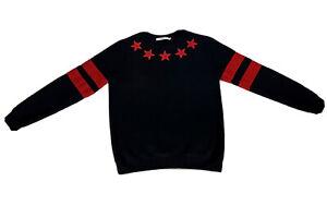 Givenchy Star Crewneck Sweatshirt Black - M