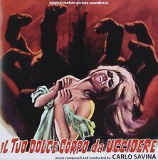 Carlo Savina - IL TUO DOLCE CORPO DA UCCIDERE - Soundtrack - Cd Nuovo