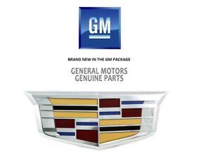 2015-2019 Cadillac Escalade ESV GM OEM Front Grille Emblem NEW 23182045