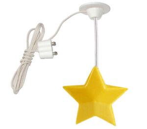 Hängelampe Stern gelb 3,5V für Puppenhaus, Puppenstube, Kahlert 10517