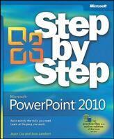 Microsoft® PowerPoint® 2010 Paperback Joyce Cox