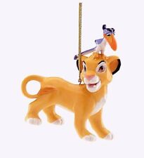 Lenox DISNEY LION KING Simba & Zazu Ornament NEW IN BOX